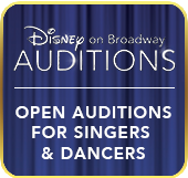Disney On Broadway Auditions!